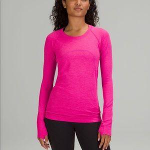 Lululemon Swiftly Tech Long Sleeve Shirt 2.0 *Pow Pink